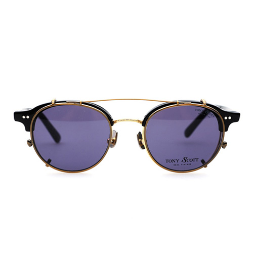 [토니스콧 안경]라군 TONY SCOTT EYEGLASSES lagoon clip antique gold