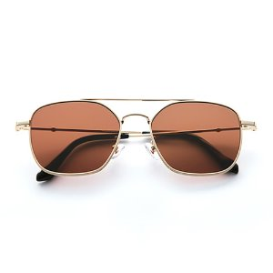[벤시몽 선글라스]캡틴 BENSIMON EYEWEAR CAPTAIN Gold Brown Mirror