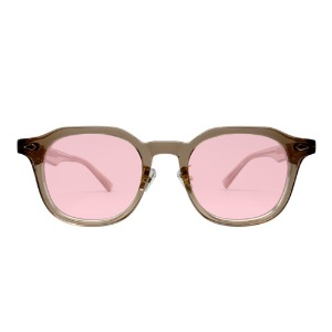 [벤시몽 선글라스]휘 BENSIMON EYEWEAR HWI Light Brown/Rose Gold_Pink Tint