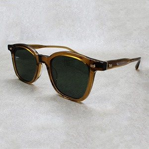 [로렌스폴 선글라스]코티 LAURENCEPAUL SUNGLASSES Coaty COL.03 crystalkhaki